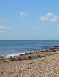 The groynes always add extra interest. I would like to have gone nearer, but they were outside 100 steps