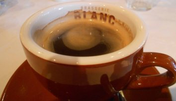 Coffee at Brasserie Blanc