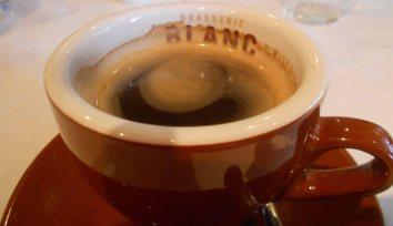 Coffee at Brasserie Blanc