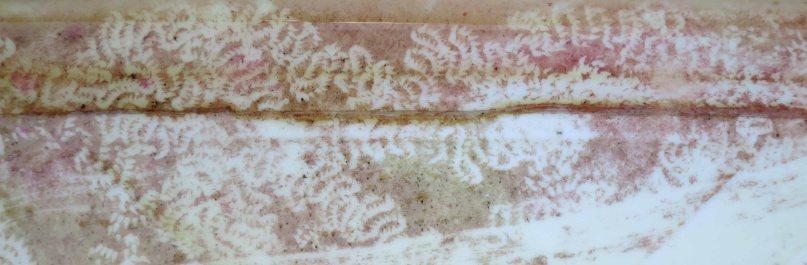 Patterns in the dye bath